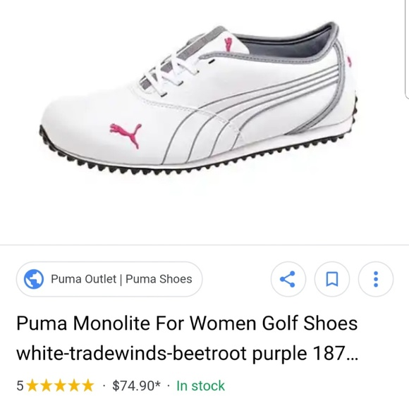 NIB Puma Monolite Spikeless Golf Shoes - 187098 01 5d2f31547